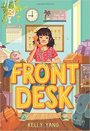 cover art for Front Desk by Kelly Yang