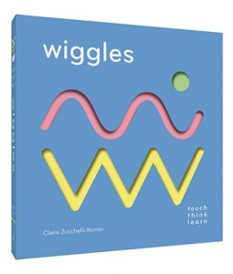 book cover die_cut art from TouchThinkLearn: Wiggles