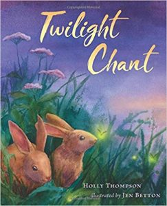 Twilight Chant by Holly Thompson cover illustration by Jen Betton