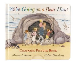 cover illustration from We're Going on a Bear Hunt: Changing Picture Book