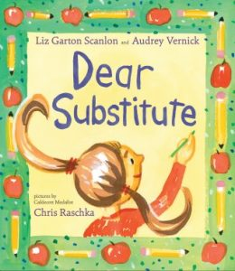 cover illustration from Dear Substitute