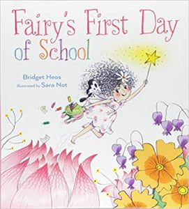 Fairy's First Day of School book cover illustration