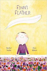 Finn's Feather book cover illustration