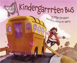 Kindergarrrten Bus book cover art