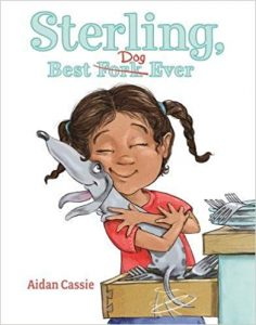 Sterling, Best Dog Ever book cover illustration