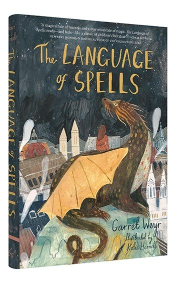 The Language of Spells book cover art