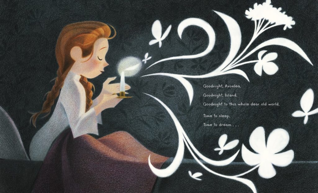 interior artwork from Goodnight Anne