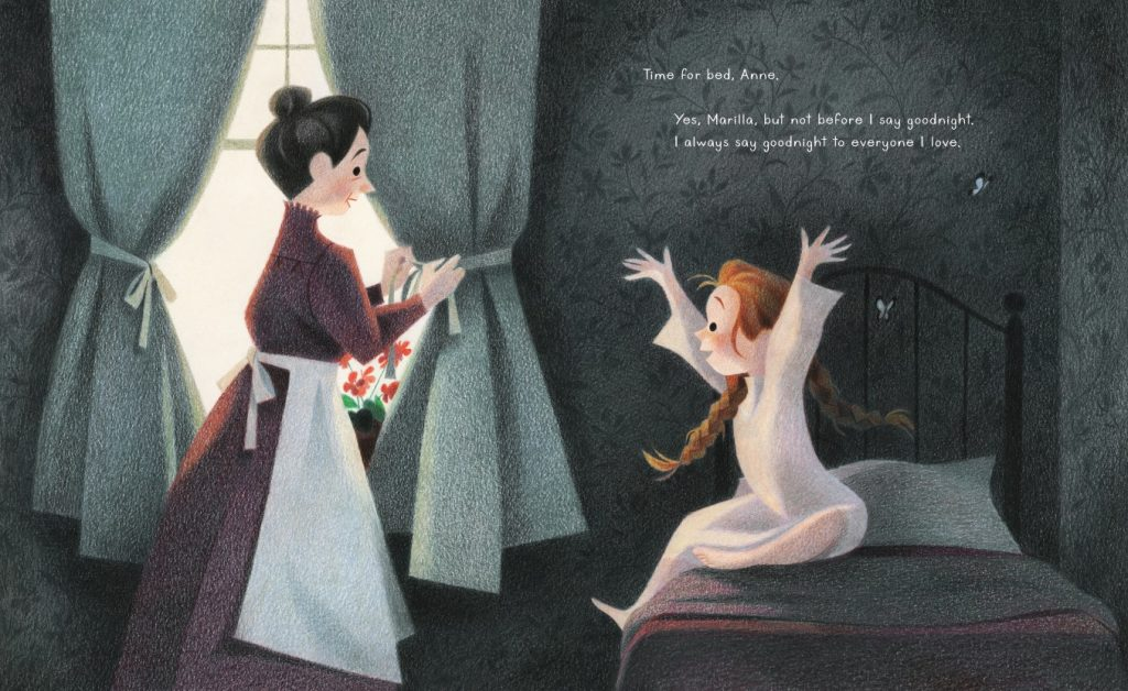 int illustration from Goodnight Anne