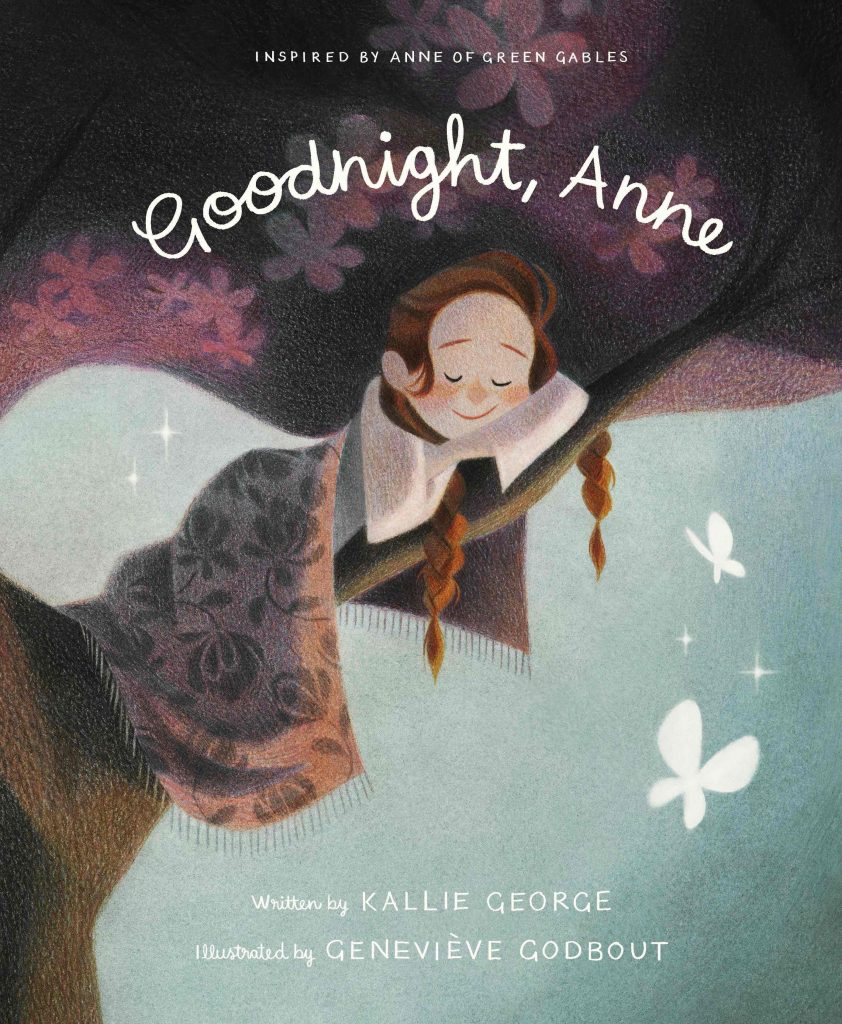 cover illustration from Goodnight Anne by Kallie George