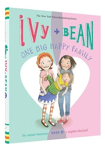 cover illustration fron Ivy and Bean One Big Happy Family