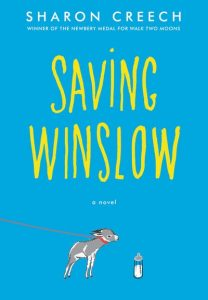 cover illustration from Saving Winslow by Sharon Creech