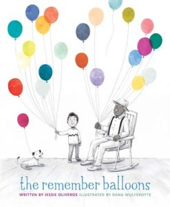 cover art from The Remember Balloons