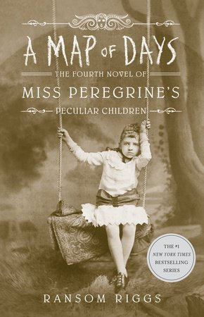 book cover image from A Map of Days by Ransom Riggs