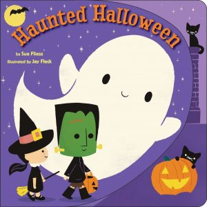 Haunted Halloween by Sue Fliess cover illustration