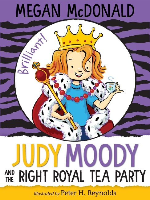 cover art by Peter H. Reynolds from Judy Moody #14 by Megan McDonald