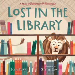 cover illustration from Lost in the Library