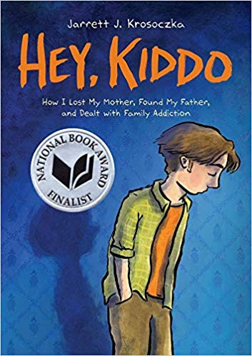 Hey Kiddo book cover art by Jarrett J. Krosoczka