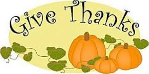 Thanksgiving clip art Give Thanks image