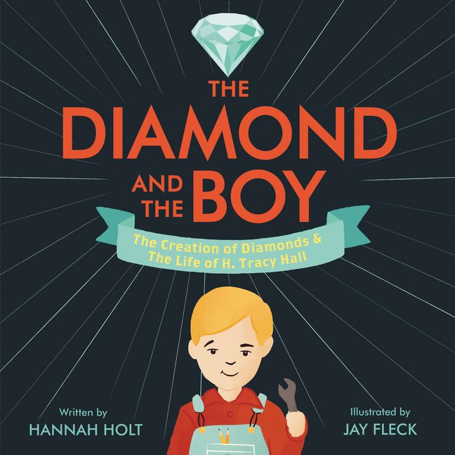 The Diamond and The Boy book cover art