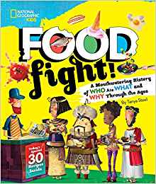 Food Fight! cover illustration