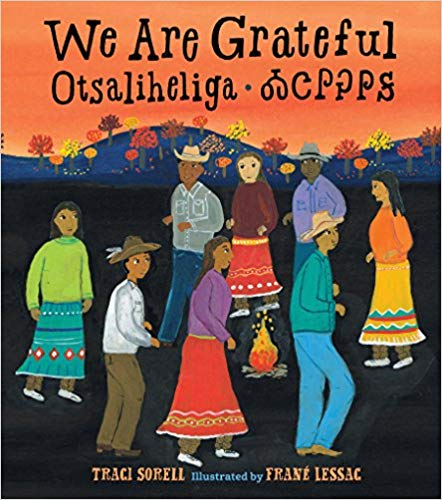book cover art from We Are Grateful: Otsaliheliga