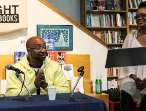 Swing Author Kwame Alexander with Wendy Calhoun at Skylight Books 2018