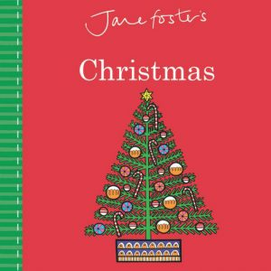 Jane Foster's Christmas board book cover art