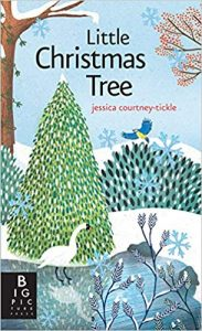 Little Christmas Tree book cover artwork