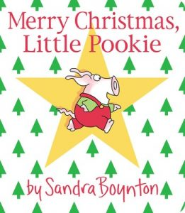 Merry Christmas Little Pookie cover illustration by Sandra Boynton