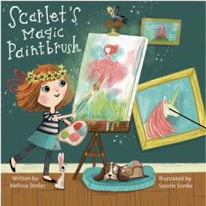 cover art from Scarlet's Magic Paintbrush