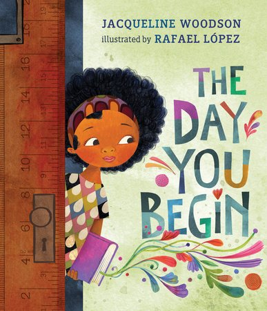 The Day You Begin book cover illustration