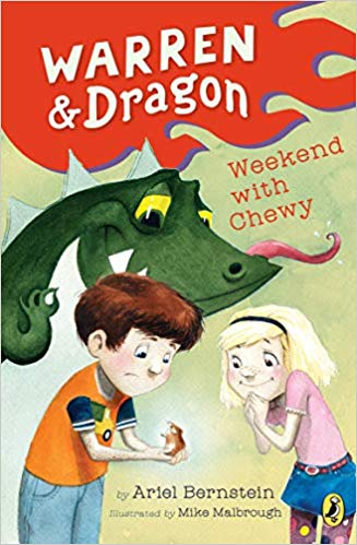 book cover art from Warren & Dragon Weekend With Chewy Book 2