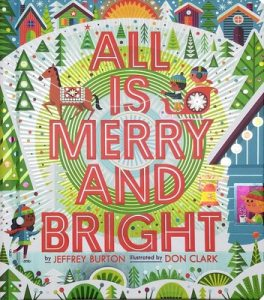 All is Merry and Bright board book cover illustration