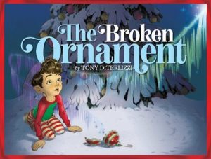 The Broken Ornament by Tony DiTerlizzi book cover art