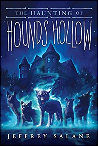 book cover illustration from The Haunting of Hounds Hollow by Jeffrey Salane
