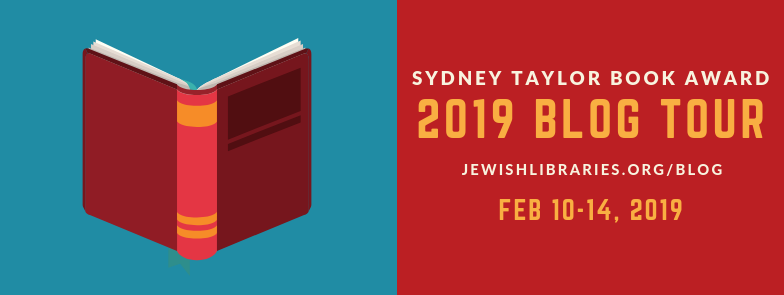 graphic for Sydney Taylor Book Award 2019 Blog Tour
