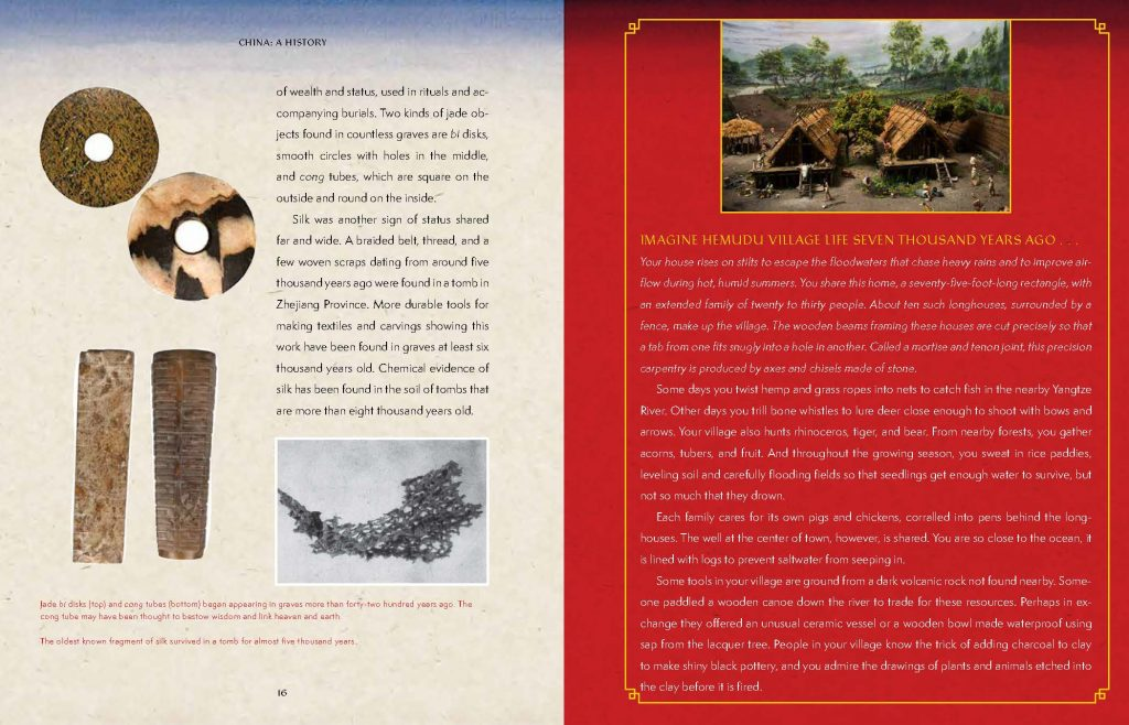 int art and spread from China A History by Cheryl Bardoe The Field Museum