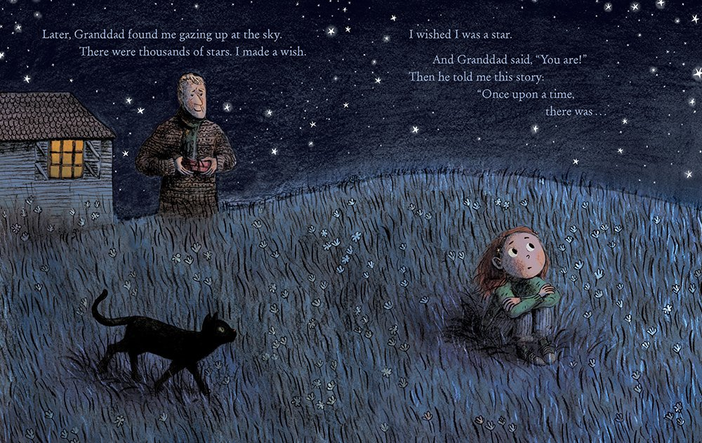 Stardust by Jeanne Willis with art by Briony May Smith int illustration