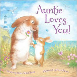 Auntie Loves You! book cover illustration