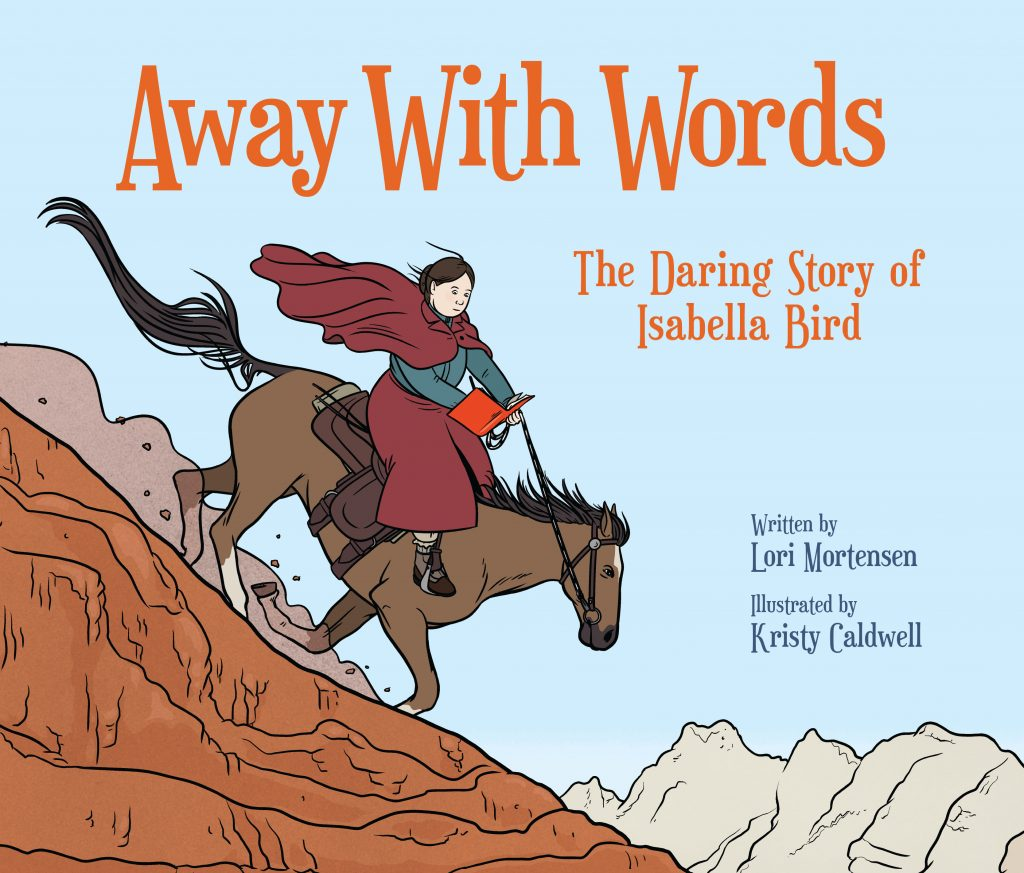 cover illustration by Kristy Caldwell from Away With Words by Lori Mortensen
