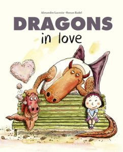 Dragons in Love cover illustration