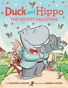 Duck and Hippo: The Secret Valentine book cover art