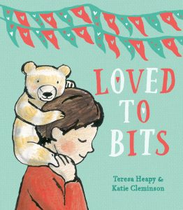 Loved to Bits book cover illustration