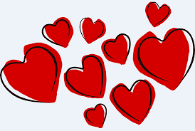 clip art of hearts