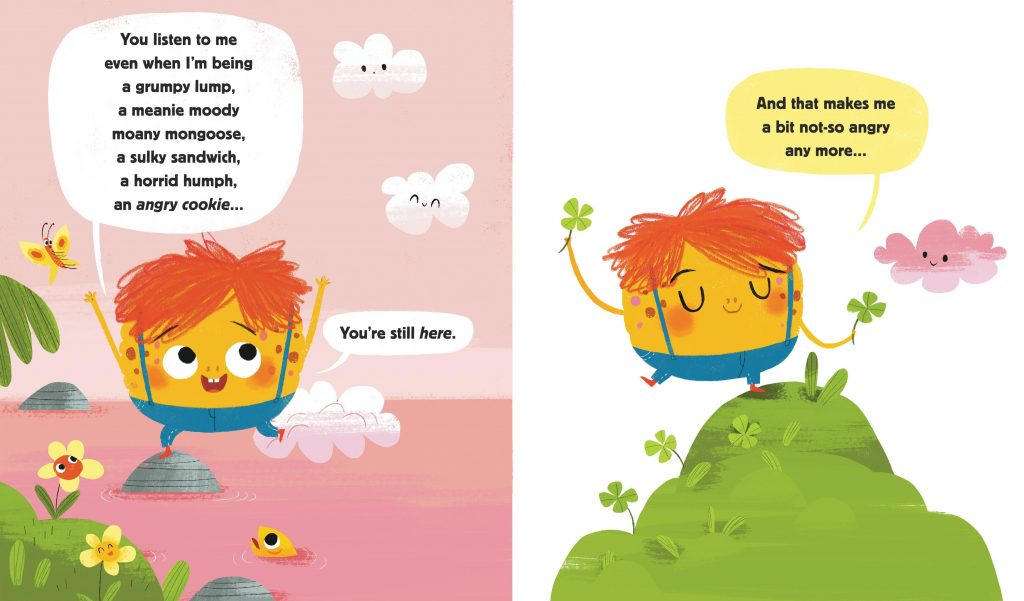 int illustrations by Maria Karipidou from Angry Cookie by Laura Dockrill Walker Books