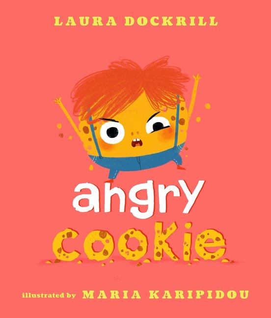 Angry Cookie book cover art