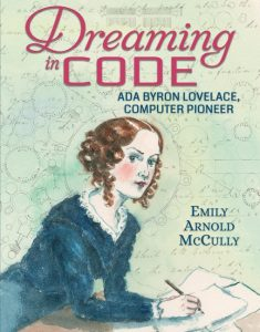 book cover illustration from Dreaming in Code Ada Byron Lovelace Computer Pioneer