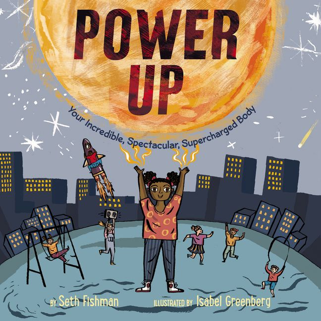 Power Up book cover artwork
