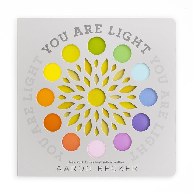 You Are Light board book cover art