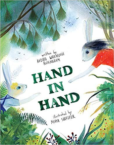 Maya Shleifer cvr art _ Hand in Hand by Andria Warmflash Rosenbaum